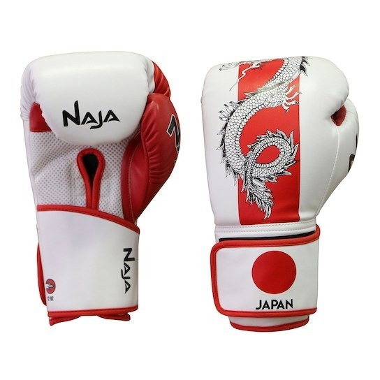 d7566aeaf Kit Boxe Muay Thai Naja Países Japão - Luva Prot Band - R  129