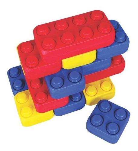kit brick-size big plastic 27 peças