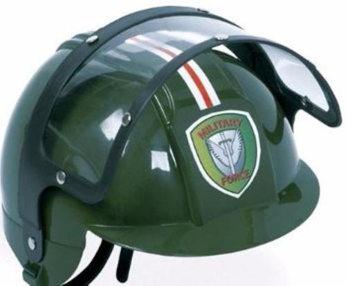 kit brinquedo police department algemas + capacete policial.
