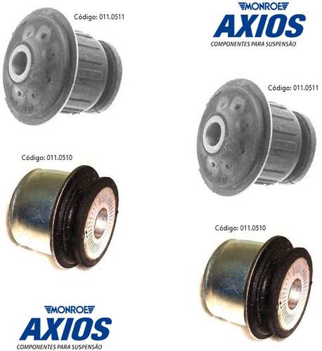kit bucha 12mm quadro agregado motor santana - axios