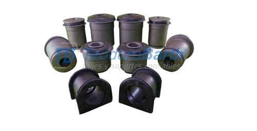 kit bujes suspensión toyota hilux - sr5 4x4 01/05 -10 piezas