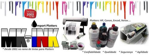 kit bulk plotter hp + tinta 4 ltrs hp 500, 510, 800, 815 etc