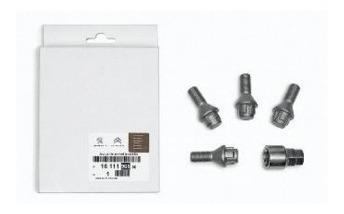 kit bulones de seguridad llantas de chapa