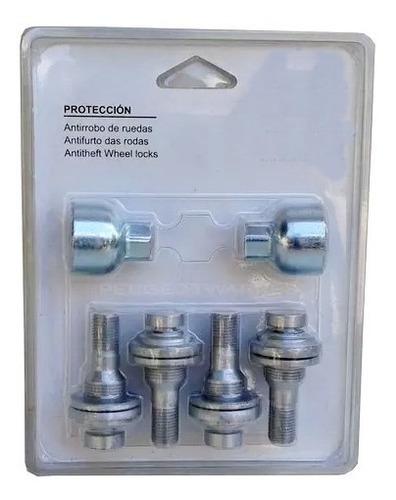 kit bulones seguridad antirrobo para peugeot y citroen