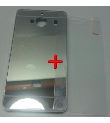 kit bumper protector aluminio xiaomi redmi 2 pro + templado