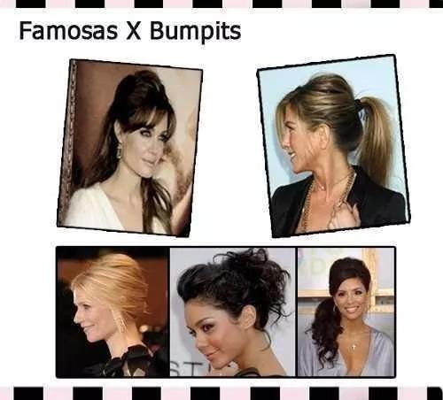 kit bumpits big happie hair 05 pçs preto penteados especiais