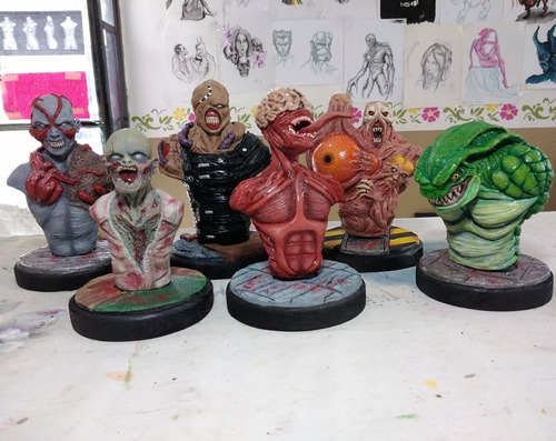kit bustos resident evil classics