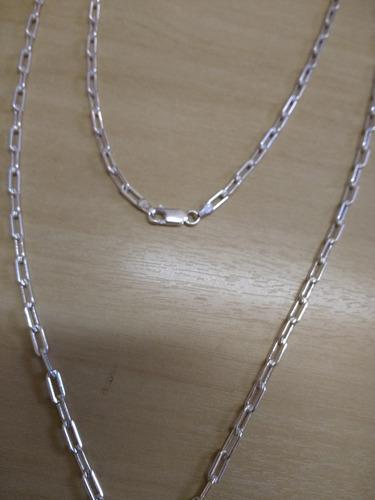 kit c/ 03 cordões cartier 7.0 gr italiana prata 925 60cm