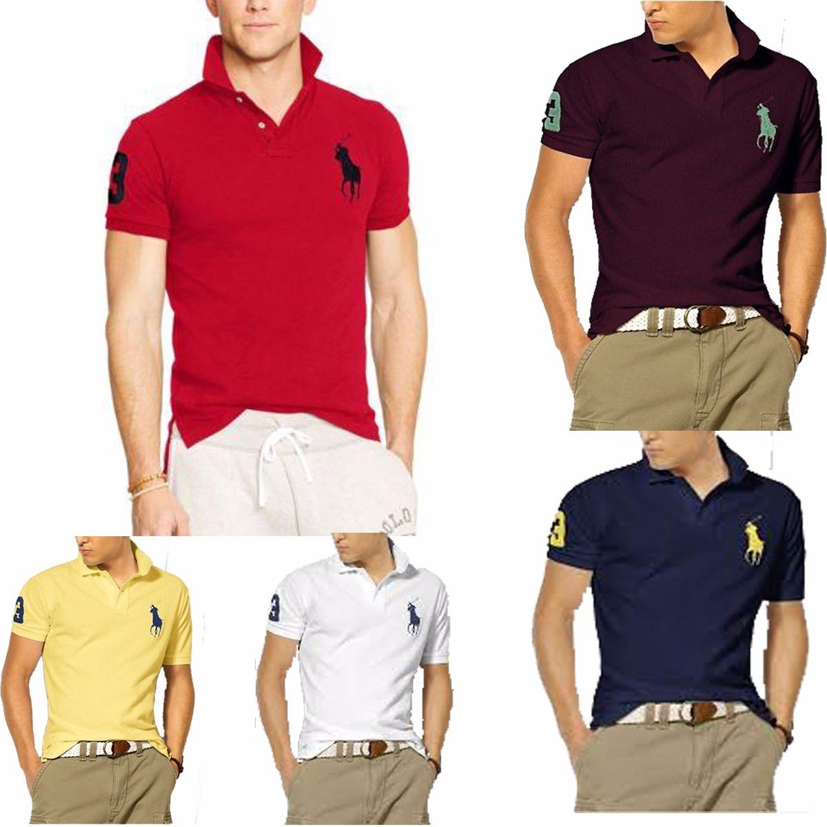 77ca5ac9d83d3 ... 04 camisas camisetas atacado gola polo masculina fret. Carregando zoom.