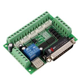 Placa Controladora Cnc Interface Mach3 Tb6560 Tb6600 5 Eixos