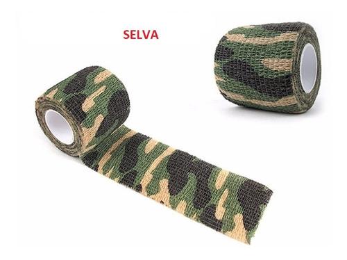 kit c/ 10 atadura elástica bandagem flexivel - tipo coban