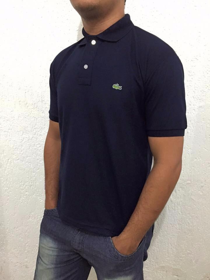 kit c  10 camisa polo lacoste masculina. Carregando zoom. f86d3d736c70b