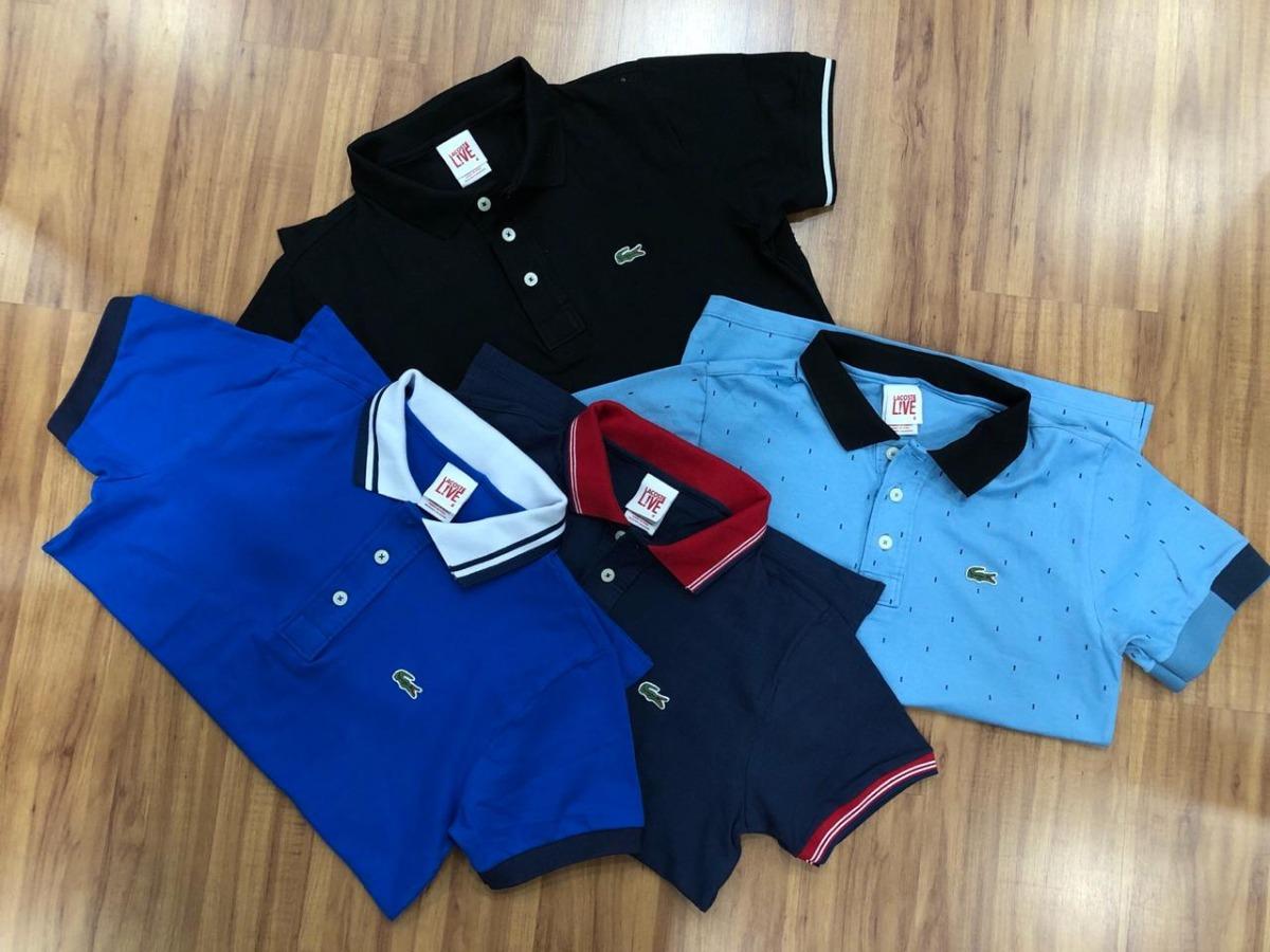76b83dbb64 kit c  10 camisas polo tommy e lacoste. Carregando zoom.
