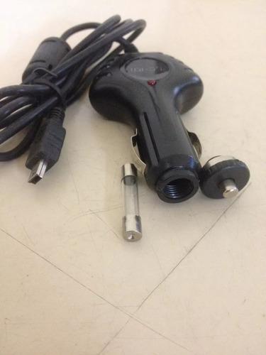 kit c/ 10 carregadores veicular gps foston powerpack midi