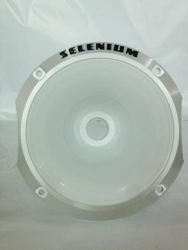 kit c/ 10 cone corneta alumínio selenium hl11-25 trio rosca