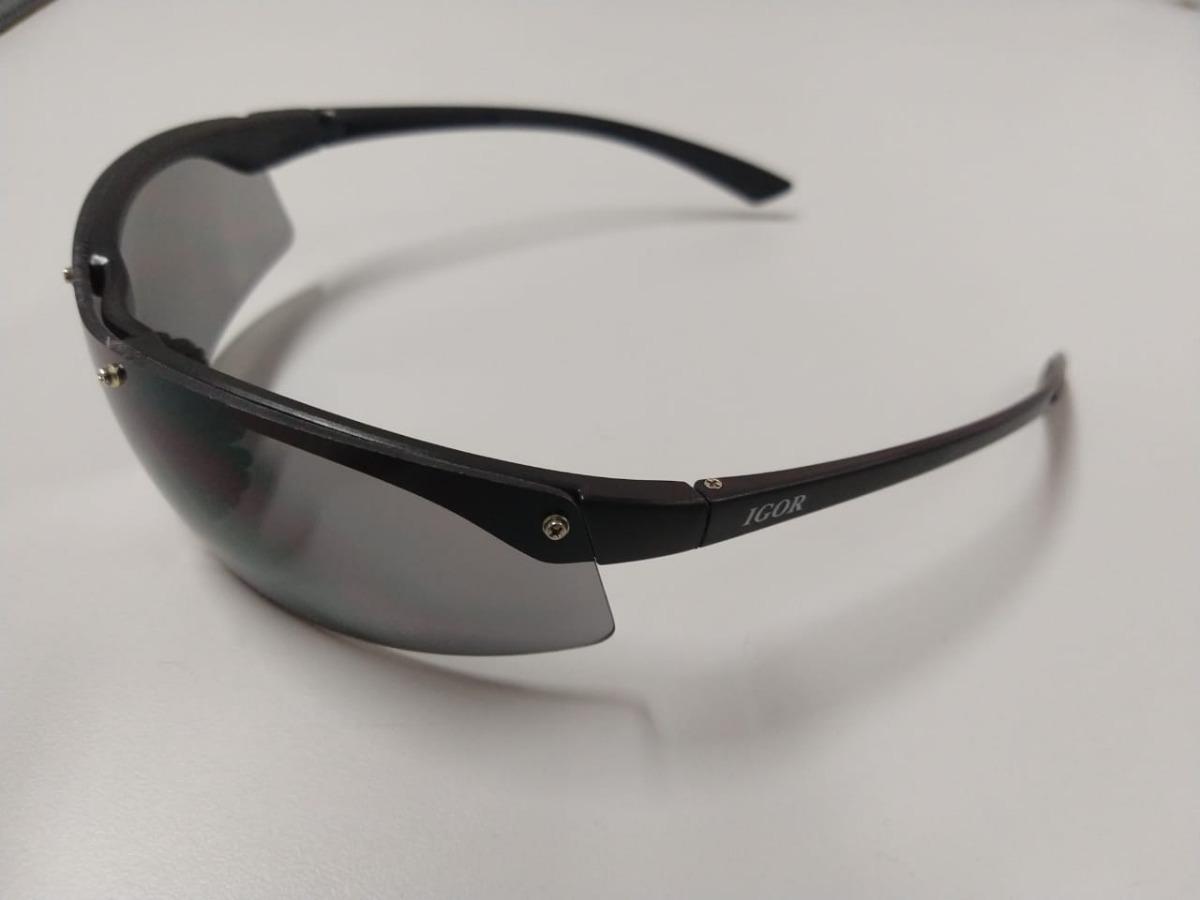 Kit C  10 Oculos Igor Cinza Protecao Danny Ca 14991 - R  199,99 em ... 429ea12637