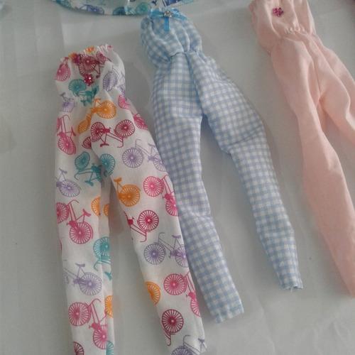 kit c/ 10 roupinhas roupas para boneca barbie frozen  oferta