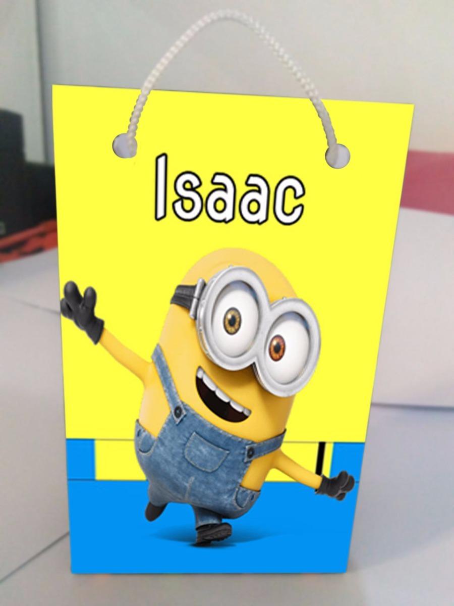 52938c716 Kit C 10 Sacolinhas Personalizadas Minions - R$ 19,90 em Mercado Livre