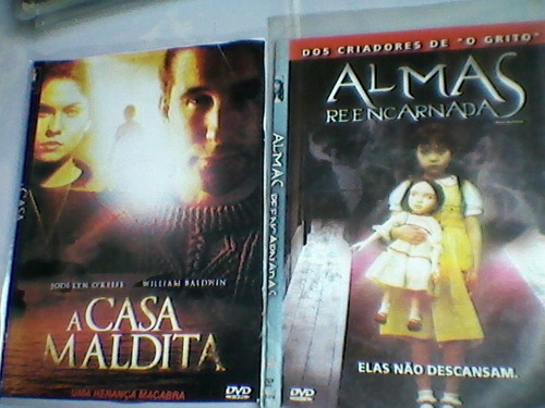 kit c/ 14 dvd filmes-terror,a casa de cera-a casa de sangue+