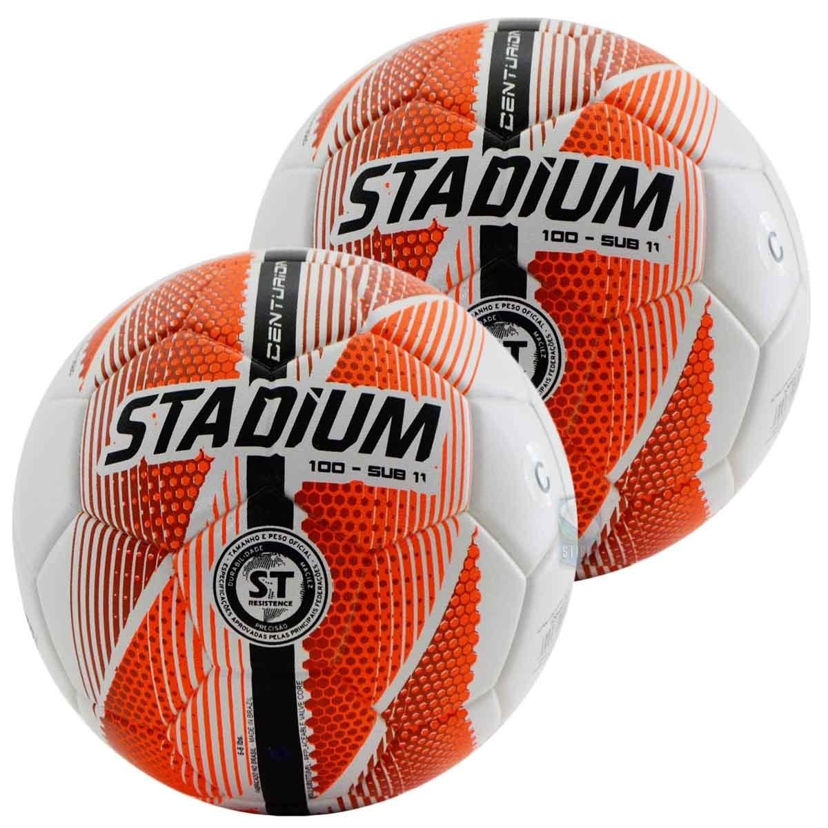 bc3cda9f552ad Kit C  2 Bolas Sub 11 Stadium Max 100 Futsal Termo Fusion - R  129 ...