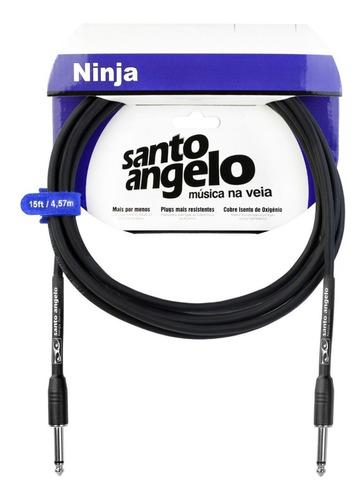 kit c/ 2 cabos ---- ninja p10 santo angelo ---- 3 metros