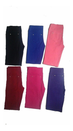 kit c 2 calça legging  infantis    c  bolso atras   1 ao 16