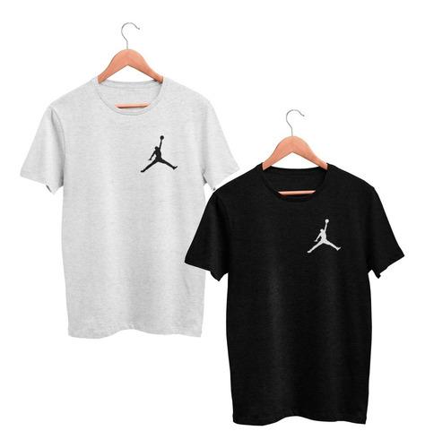 kit c 2 camisa camiseta air jordan basquete nba - barato