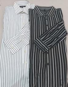a89e8d8285 Camisas Listradas Masculinas Menor Preço Tamanho 5 - Camisa 5 Preto ...