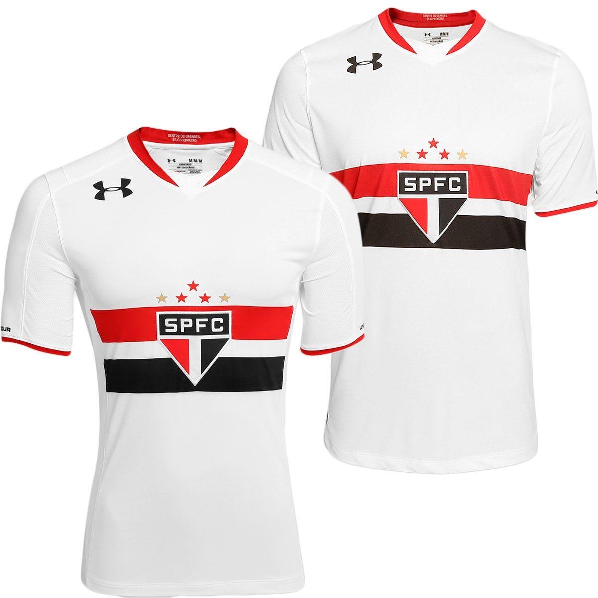 8f2869865ac ... camisas são paulo jogador+torcedor under armor s nº. Carregando zoom.