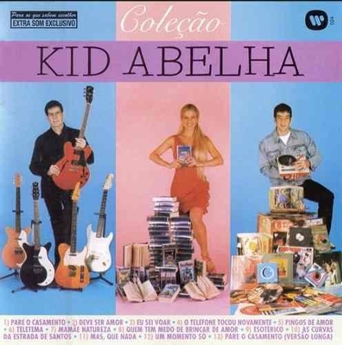 Kit C/ 2 Cd Kid Abelha - Greatest Hits 80's + Cd Coleção
