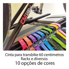 Kit C/ 2 Cinta P/ Transbike Profissional 250kg 25mm X 60cm