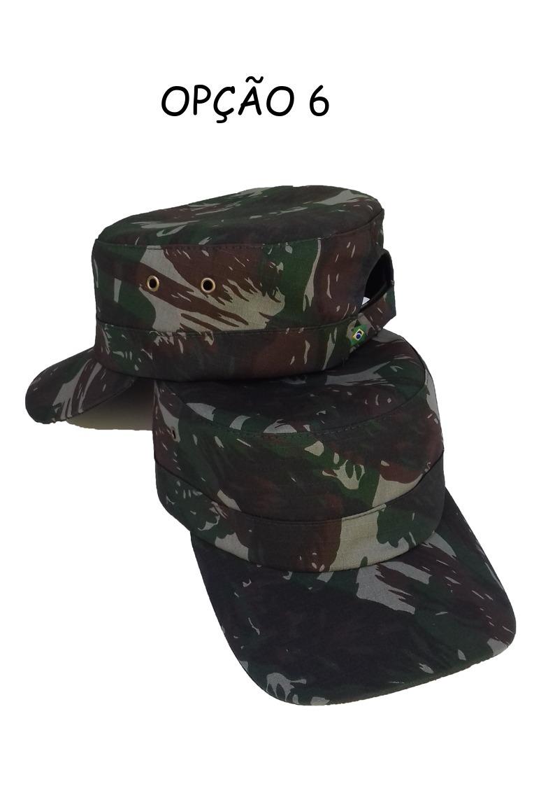 kit c  2 unid boné quepe boina camuflado militar c  ajuste. Carregando zoom. 19dd7bea098