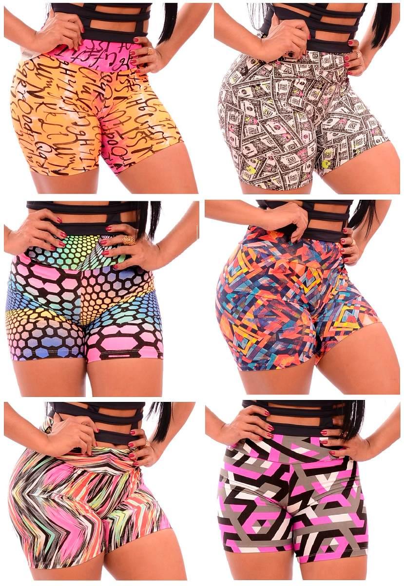 bd5a3b5d16 kit c  20 shorts estampados - academia moda fitness atacado. Carregando  zoom.