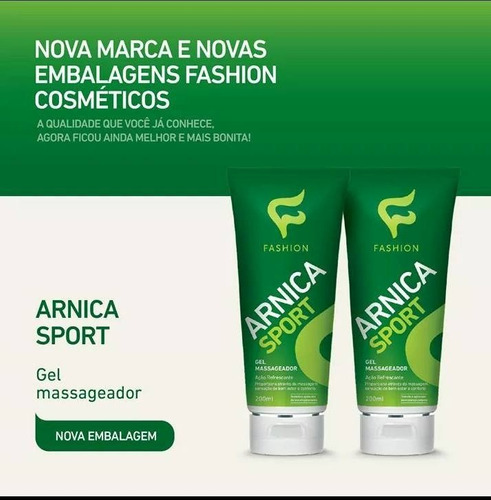 kit c/ 24 produtos gel massageador arnica sport 200g-fashion