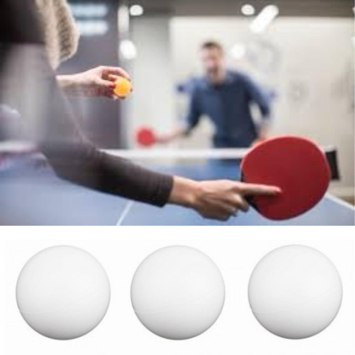 Kit c 3 bolas brancas de ping pong t nis de mesa - Bolas de pin pon ...