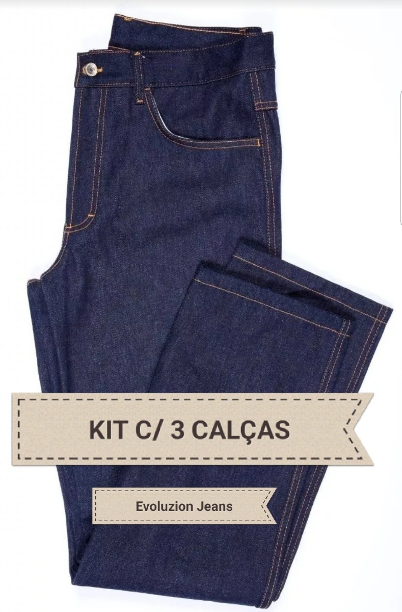 0b6fdce57 ... calça jeans masculina tradicional trabalho serviço. Carregando zoom.