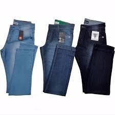 kit c/ 3 calça jeans masculinas varias marcas frete gratis
