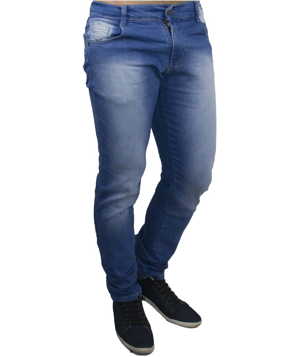c794cf996 kit c  3 calça jeans sarja masculina skinny lycra colorida. Carregando zoom.