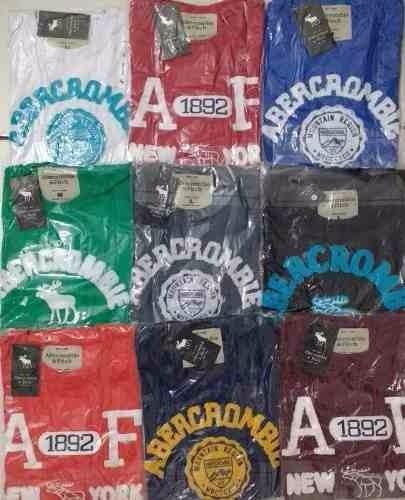 kit c 3 camisas masculinas hollister,aeropostale,abercrombie