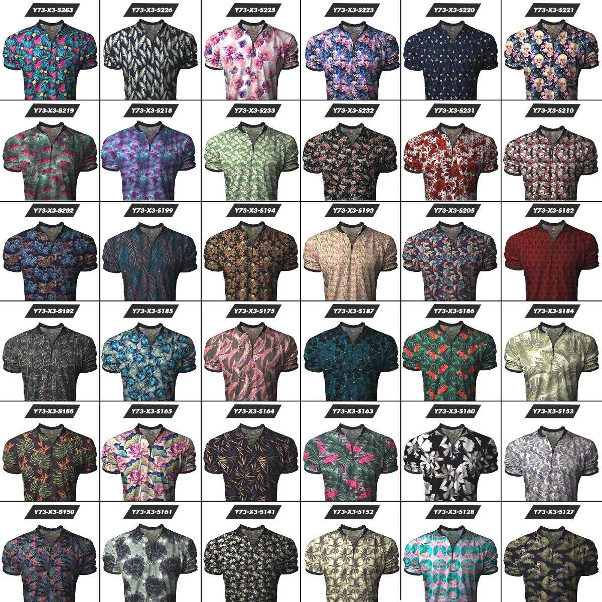 kit c  3 camiseta camisa longline gola polo esporte swag top. Carregando  zoom. be9682f490fc9