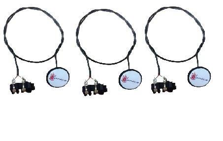 kit c/ 3 captadores de contato sonica