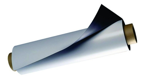 kit c/ 3 folhas de imã manta magnética 0,3 adesivada 21x30cm