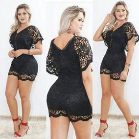 0eed9ab7d Macacão Com Guipir Tamanho P - Macacão P para Feminino no Mercado Livre  Brasil