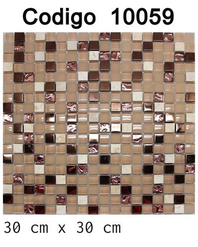 kit c/ 3 papel parede pastilha porcelanato 30cm código 10059