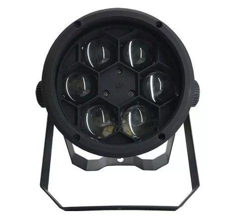kit c/ 4 bee eye super refletor 6x12w rgbw dmx somos loja