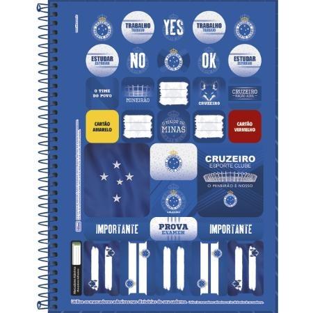 0b5a259fbb Kit C  4 Caderno Cruzeiro 96f Capa Dura Oficial - 104099 - R  89