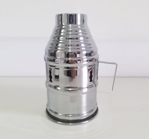 kit c/ 5 abafadores para narguilé carvão essência