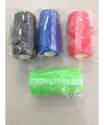 kit c/ 5 bandagens flexível-elástica oferta