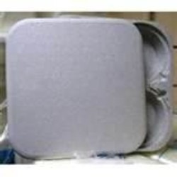 kit c/ 5 bandeja porta marmitex em isopor 8 e 9