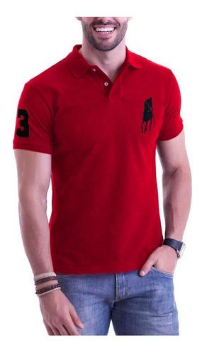 kit c/ 5 camisa camiseta polo grandes marcas atacado oferta